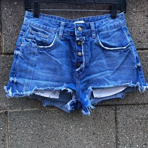 Zara Shorts You Look Pretty When You Are Happy SZ2